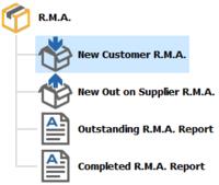 RMA-options
